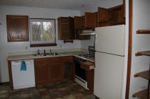 Kitchen - The stove and fridge work. Not sure about the dishwasher.